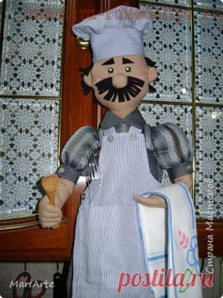 """Master class in sewing for the house: Paketnitsa is \""""Cook\"""""""