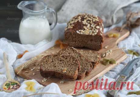 Полезный низкокалорийный хлеб - рецепт из рубрики «Рецепт хлеба»