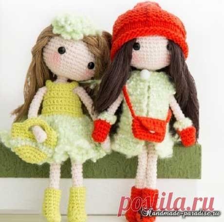 Подружки. Куколки амигуруми крючком - Handmade-Paradise