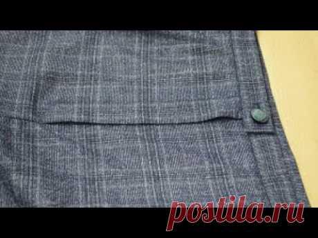 МК - Гульфик на женских брюках