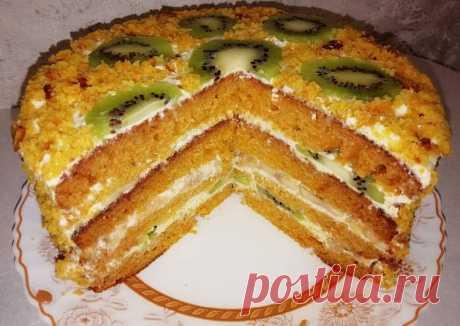 (1) Тыквенно-медовый торт - пошаговый рецепт с фото. Автор рецепта Диана Ушакова . - Cookpad