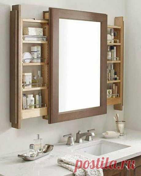 Удачные идеи для ванной комнаты