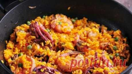 Потрясающий рис с креветками и мидиями для романтического ужина: пошаговый рецепт приготовления