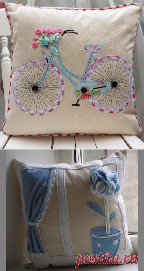 Выкройки для подушек декоративных