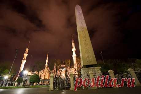 Обелиск Феодосия, Турция - Путешествуем вместе