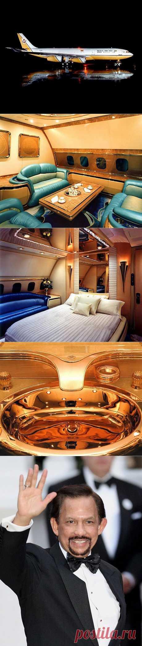 Самолёт султана Брунея : НОВОСТИ В ФОТОГРАФИЯХ