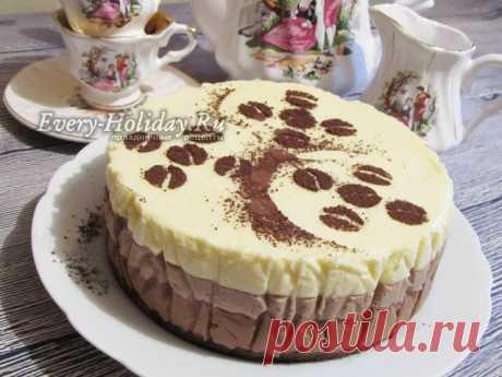 """Торт """"Три шоколада"""", пошаговый рецепт с фото"""