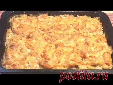 Мясо по-французски с картошкой, наверное лучший рецепт!