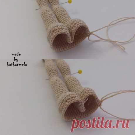 La muñeca de armazón por el gancho de Sonechka, la parte 1: el cuerpo - Katkarmela: los juguetes amigurumi por el gancho