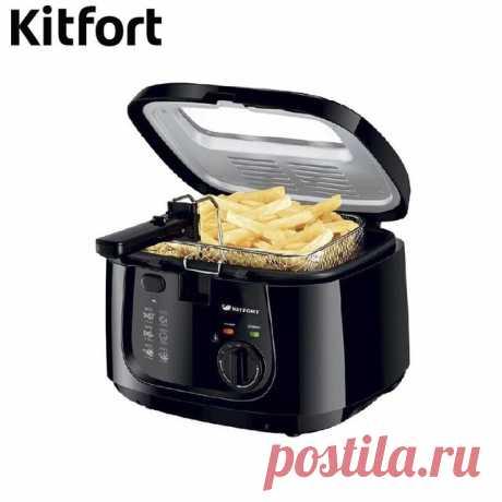 Фритюрница Kitfort KT-2018 С данным товаром уже совершено: 8 заказа(ов);           Характеристики товара                                        Бренд:                         KIT FORT...