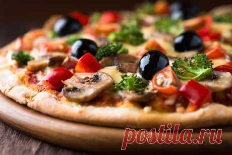 Вегетарианская пицца | Любимые рецепты