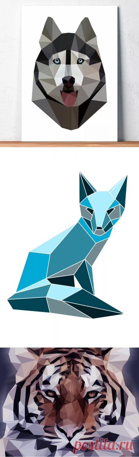 геометрические рисунки: 4 тыс изображений найдено в Яндекс.Картинках