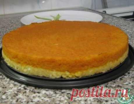 El tostado bilateral de la calabaza en la base caseosa - la receta de cocina