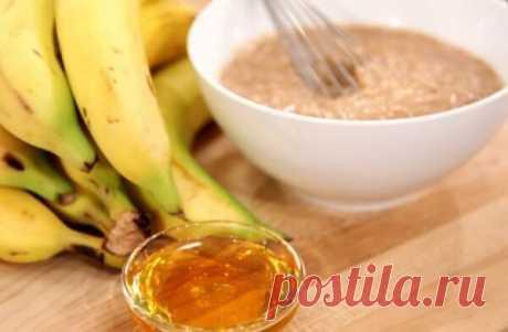 Измельчи банан и добавь еще 2 ингредиента… Никакого кашля ни осенью, ни зимой! | Бабушкины секретики