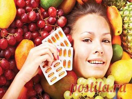 Витамины замедляющие старение! Они жизненно необходимы для каждого! - Советы на каждый день