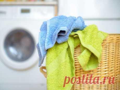 Как отстирать кухонные полотенца в микроволновке? / Домоседы