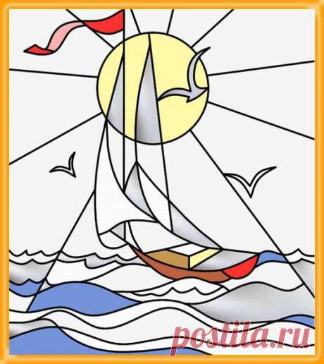 «Рисунки для витражей» — карточка от пользователя ya.ilyxa.1994 в Яндекс.Коллекциях
