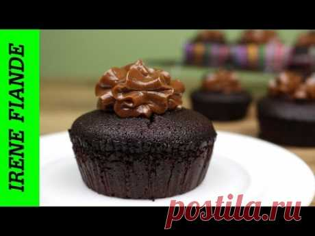 Muffins recipe. Chocolate muffins from nutelly (Irene Fiande)