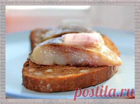 Сельдь сухого (пряного) посола : Закуски и бутерброды