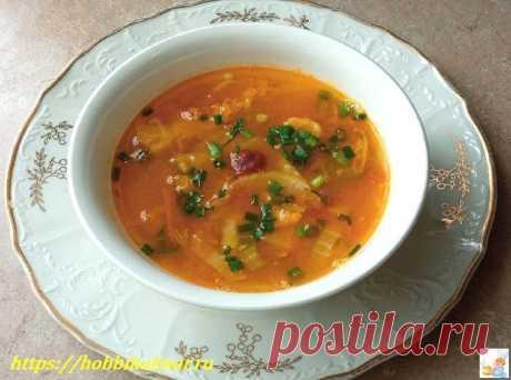 Суп из тыквы — быстрый и вкусный пошаговый рецепт