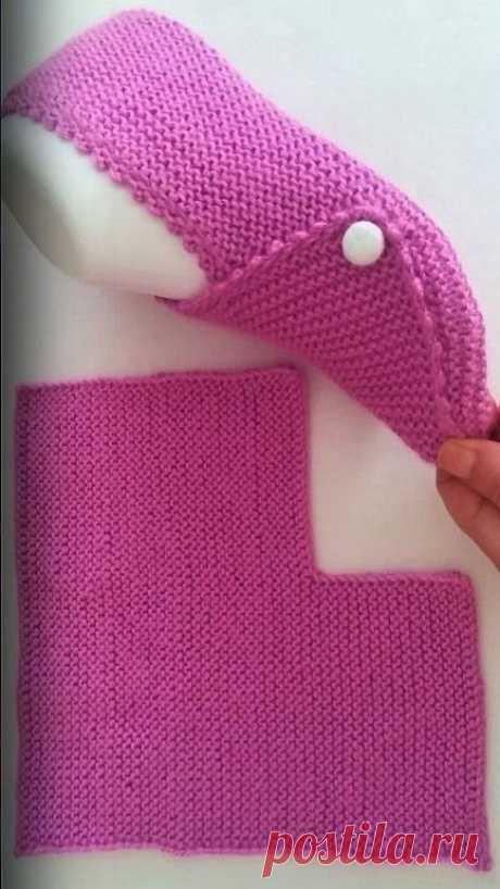 Köşesi Kırık 10 Dakikada Patik Modeli  #crochetpattern #crochetlove #crochet...