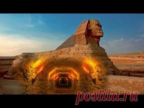 A los arqueólogos se hacía malo, cuando han conocido, donde conduce este túnel. El misterio de la Gran Esfinge. El territorio