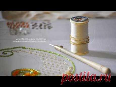 Люневильская вышивка. Советы при покупке, история и виды. Luneville embroidery