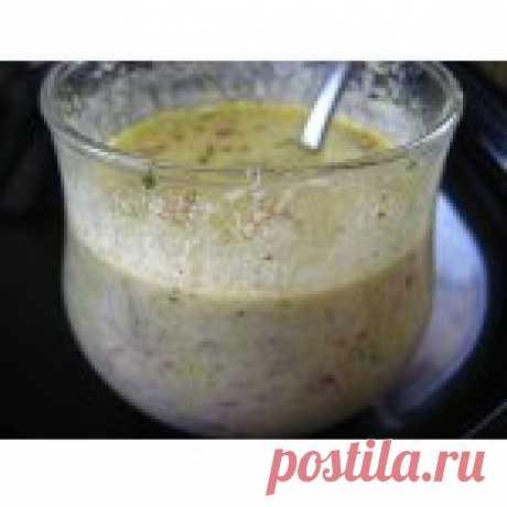 Французский сливочный соус для салатов Кулинарный рецепт