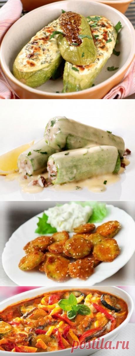 Что приготовить из кабачков. Рецепты приготовления блюд из кабачка / Простые рецепты