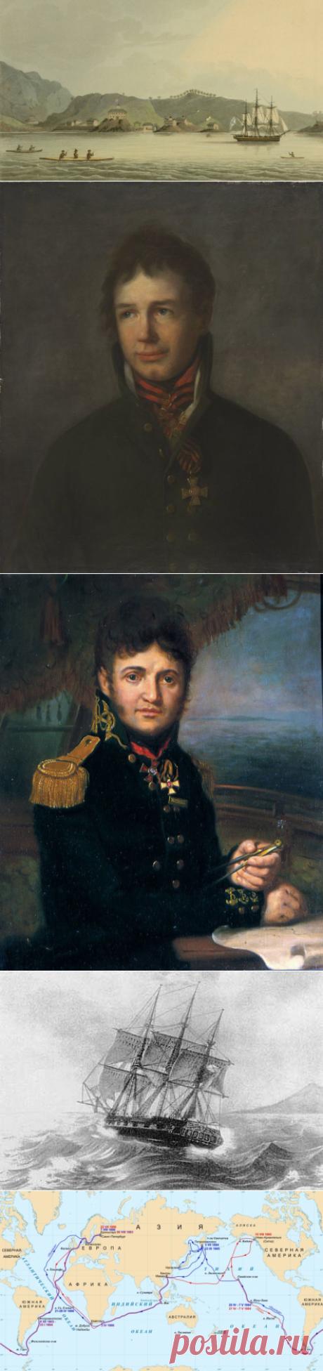 Как проходила первая русская кругосветная экспедиция? | Культура