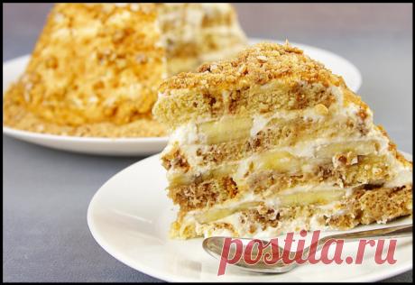 Торт за 10 минут всего из трех продуктов - этот рецепт осилят даже дети!