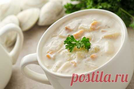 Молочный суп. Вкусные молочные супы