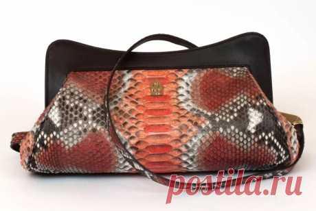 Роскошный аксессуар из кожи змеи: модные тенденции сумок 2019/20
