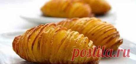 Картофель с сыром в духовке пошаговый рецепт