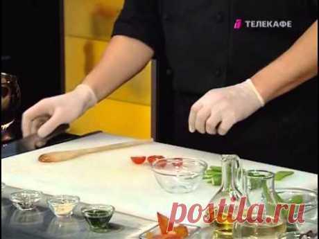 Кулинарный мастер класс Романа Шегарова