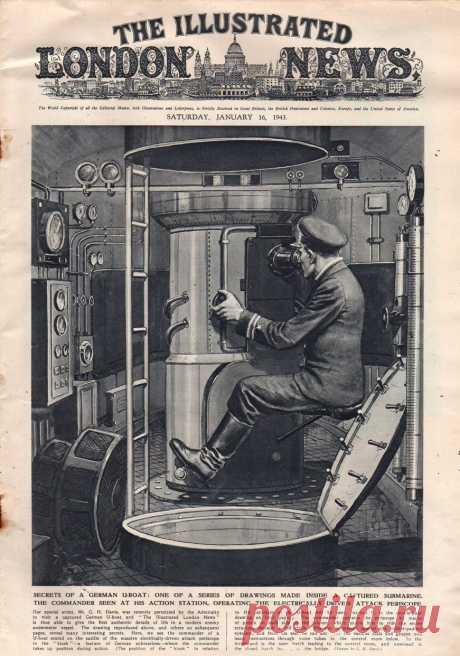 1943.01.16 - The Illustrated London News | Sovetika.ru - обложки старых журналов