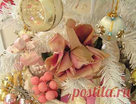 Винтажное украшение к Рождеству