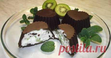 Отличная идея: Творожок в шоколаде - быстро и вкусно!.