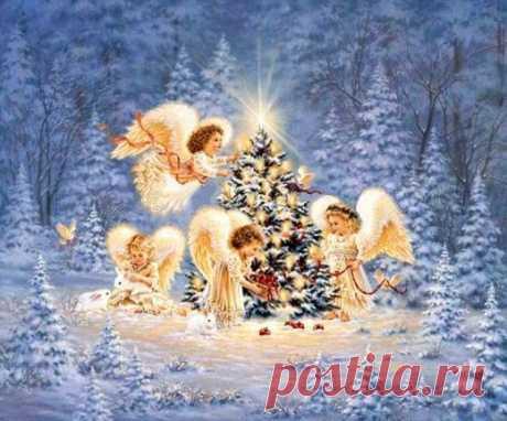 «А там – на небе, тоже суета и ангел поедает мандарины…» — новогоднее стихотворение Ирины Самариной | Golbis