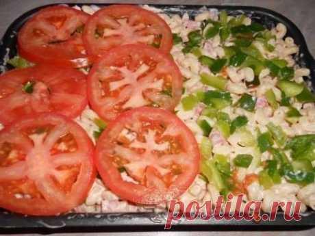 Как приготовить макароны в духовке, вкуснее пиццы!