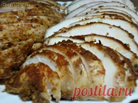 Пастрома сочная из куриного филе (за 12 минут). Рецепт с фото. Пошаговые фотографии. Gurmel