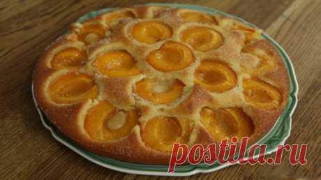 Рецепт вкуснейшего абрикосового пирога с секретом.