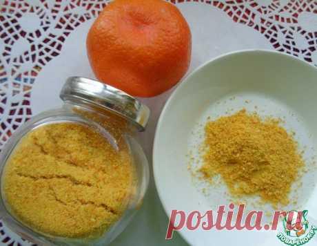 Мандариновый порошок с ванилином – кулинарный рецепт