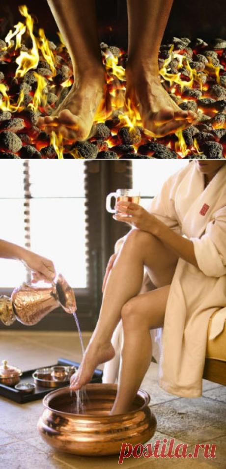 Почему горят стопы?