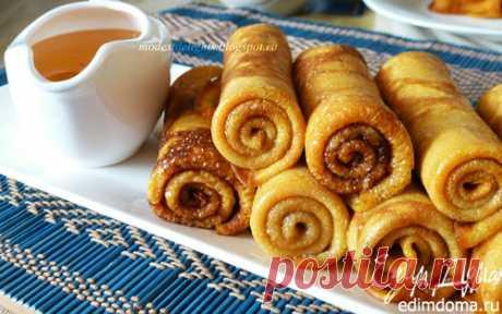 Тыквенные блинчики с корицей | Кулинарные рецепты от «Едим дома!»