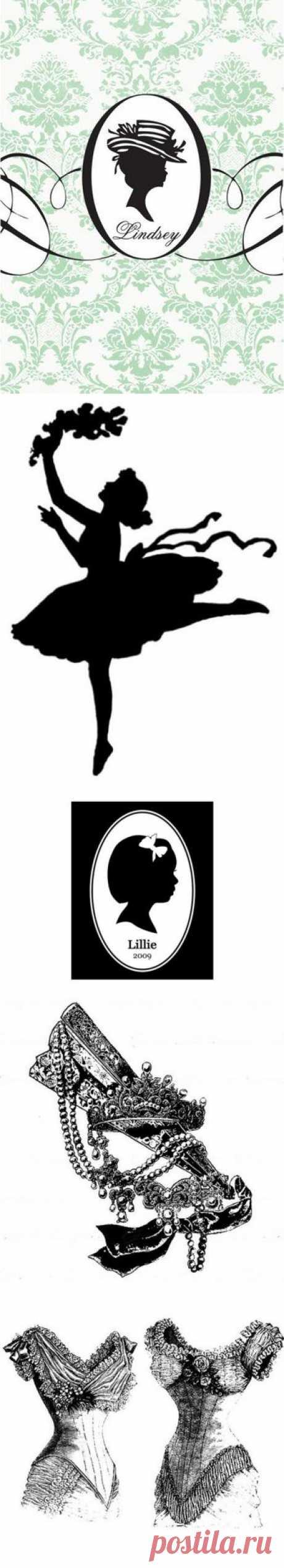 Чёрно-белый винтаж 2.