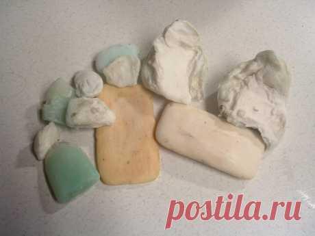 Полезные обмылки или что делать с остатками мыла