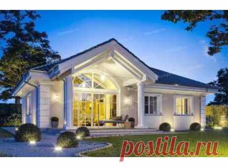 p2318ge – проект одноэтажного дома 14 на 9 с 3 спальнями до 100 кв м