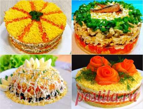 Лучшие салаты из рыбных консервов - Готовьте с Любовью - gotovte s lyubovyu.ru.com