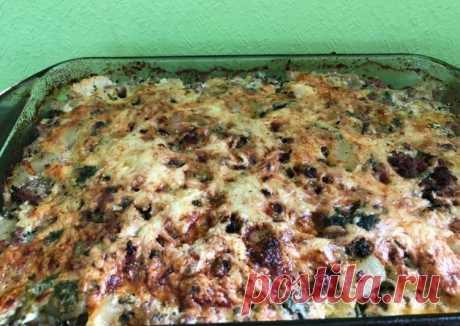 (9) ❤️Запеканка из кабачков,брокколи и цветной капусты с фаршем и сыром(низкокалорийная👌🏼)быстро👍⏰ - пошаговый рецепт с фото. Автор рецепта Валентина . - Cookpad